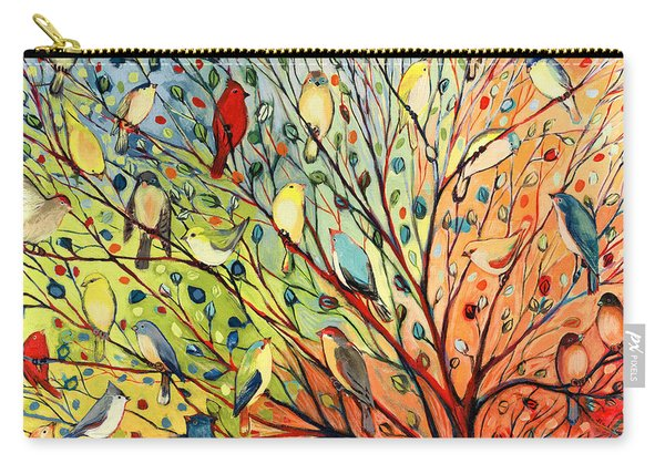 27 Birds Carry-all Pouch