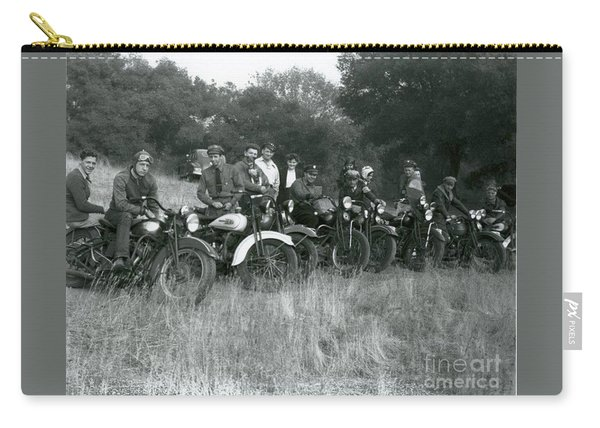 1941 Motorcycle Vintage Series Carry-all Pouch