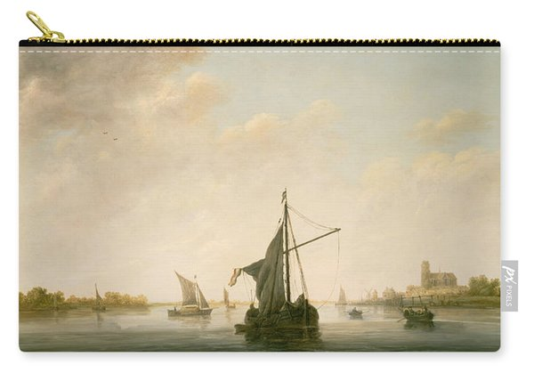 A View Of The Maas At Dordrecht Carry-all Pouch