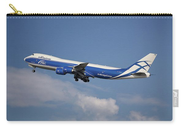 Air Bridge Cargo Airlines Boeing 747-83q Carry-all Pouch
