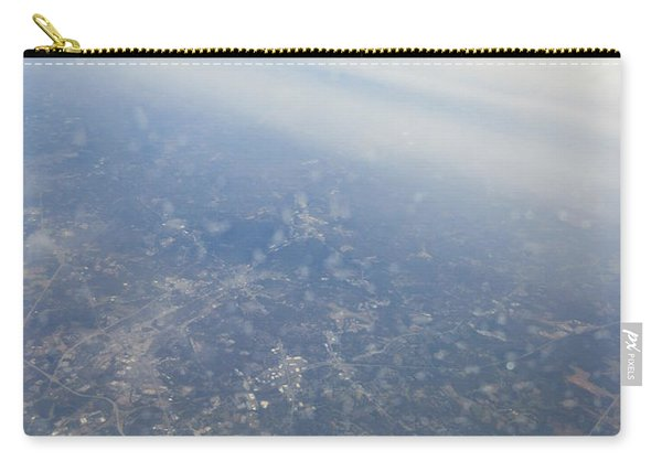 An Aerial View Of Columbus Carry-all Pouch