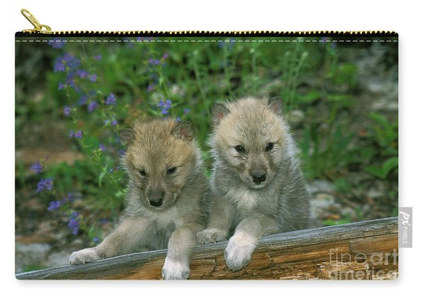 Arctic Wolf Canis Lupus Tundrarum Carry-all Pouch