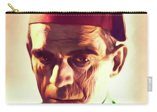 Boris Karloff, Vintage Horror Legend Carry-all Pouch
