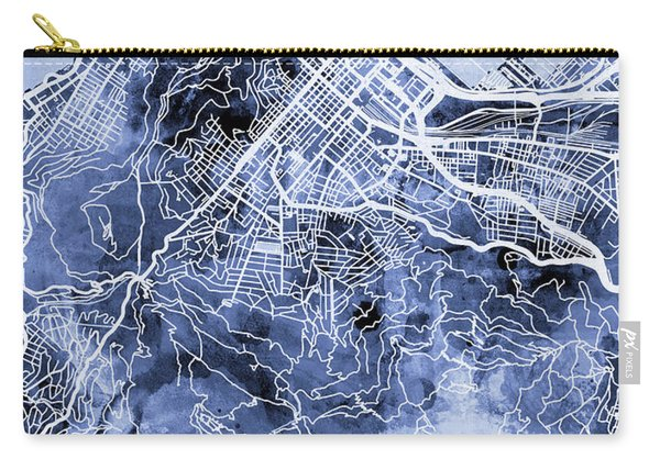 Cape Town South Africa City Street Map Carry-all Pouch