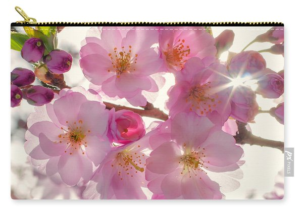 Cherrie Blossom Carry-all Pouch