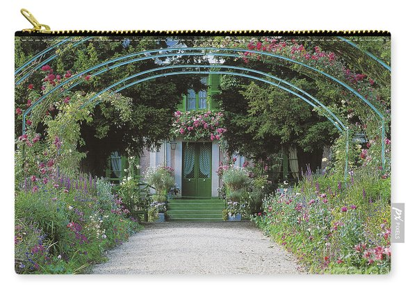 Claude Monet's Garden At Giverny Carry-all Pouch