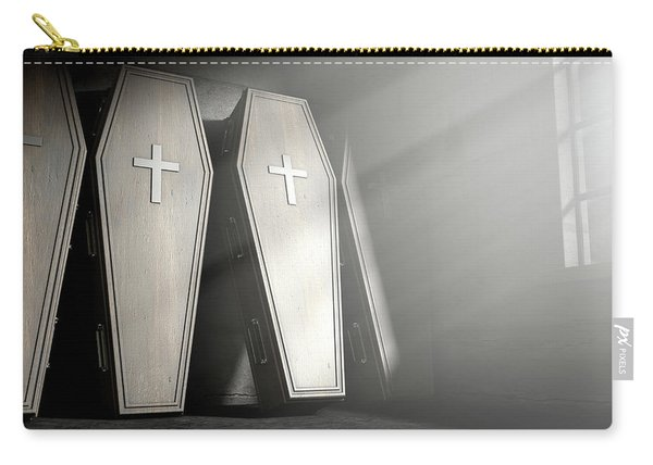 Coffin Row In A Room Carry-all Pouch