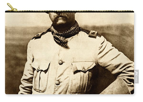 Colonel Theodore Roosevelt Carry-all Pouch