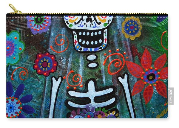Day Of The Dead Bride Carry-all Pouch