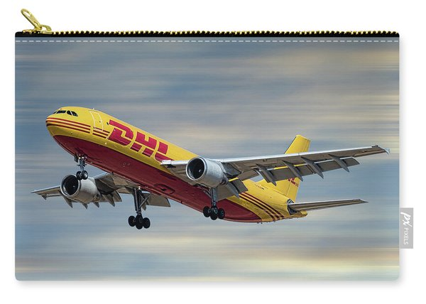 Dhl Airbus A300-f4 Carry-all Pouch