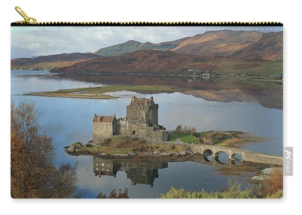 Eilean Donan Castle - Panorama Carry-all Pouch