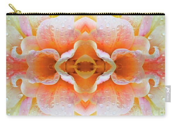 Flower Mandala - 0099-d Carry-all Pouch
