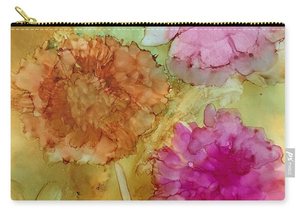 3 Flowers Carry-all Pouch