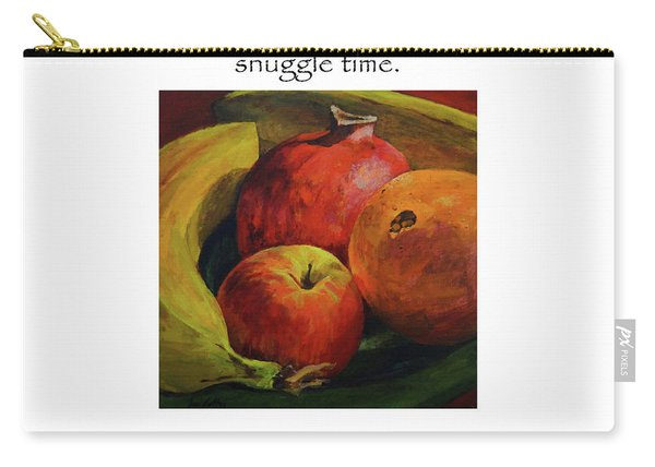 Get Your Snuggle Time Title On Top Carry-all Pouch