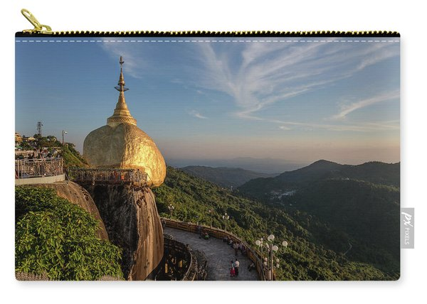 Golden Rock - Myanmar Carry-all Pouch