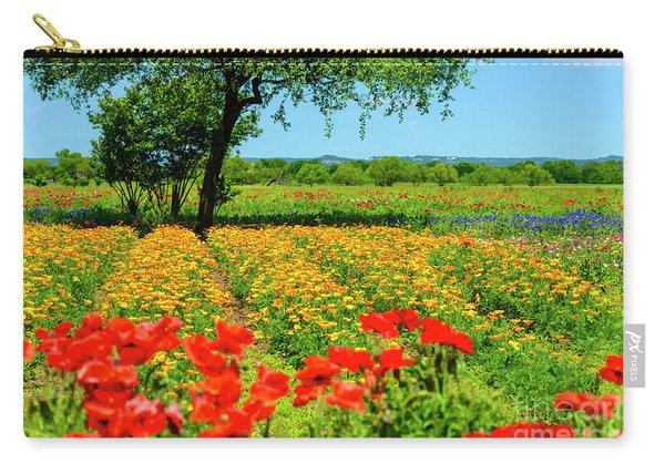 Hill Country In Bloom Carry-all Pouch