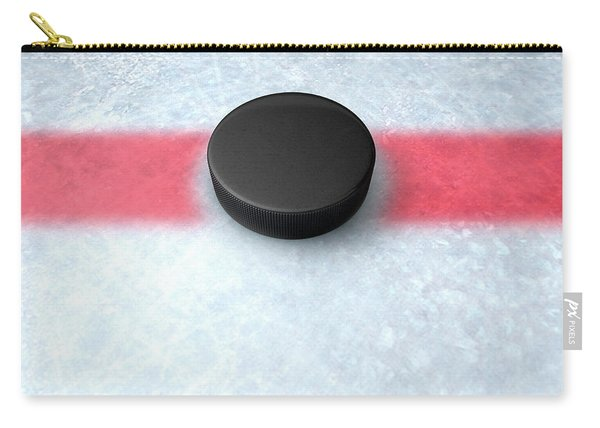 Hockey Puck Centre Carry-all Pouch