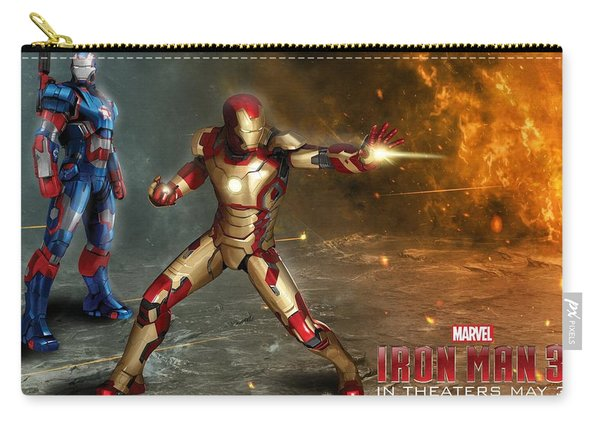 Iron Man 3 Carry-all Pouch