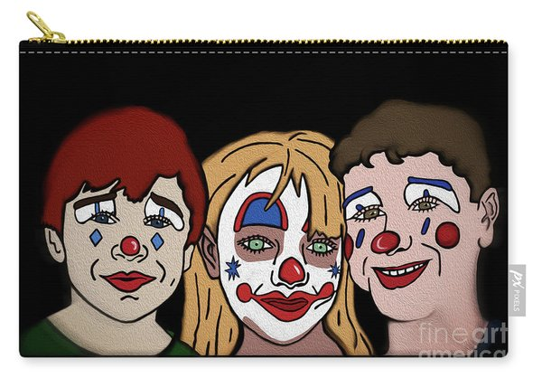 3 Jesters Carry-all Pouch