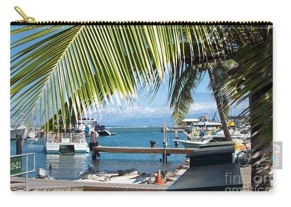 Lahaina Harbor Maui Hawaii Carry-all Pouch