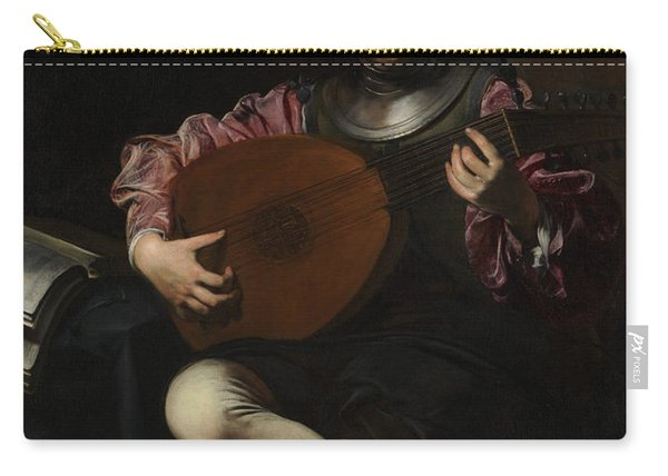 Lute Player Carry-all Pouch