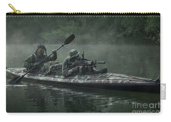 Navy Seals Navigate The Waters Carry-all Pouch