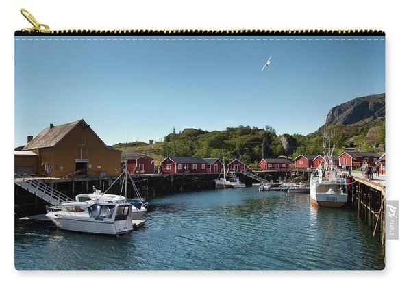 Nusfjord Fishing Village Carry-all Pouch