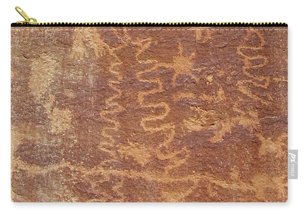 Petroglyph - Fremont Indian Carry-all Pouch