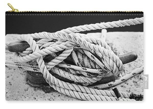 Ropes On Cleat Carry-all Pouch