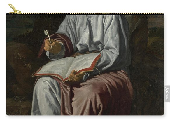 Saint John The Evangelist On The Island Of Patmos Carry-all Pouch