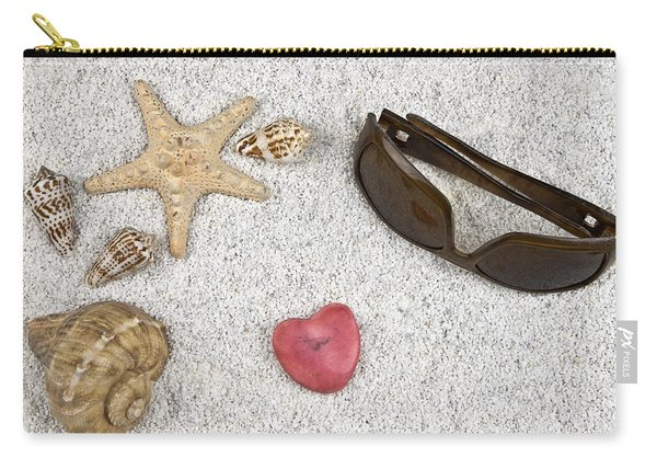 Seastar And Shells Carry-all Pouch