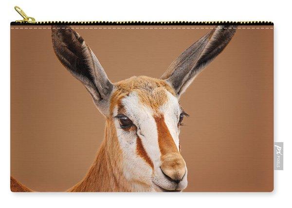 Springbok Portrait Carry-all Pouch