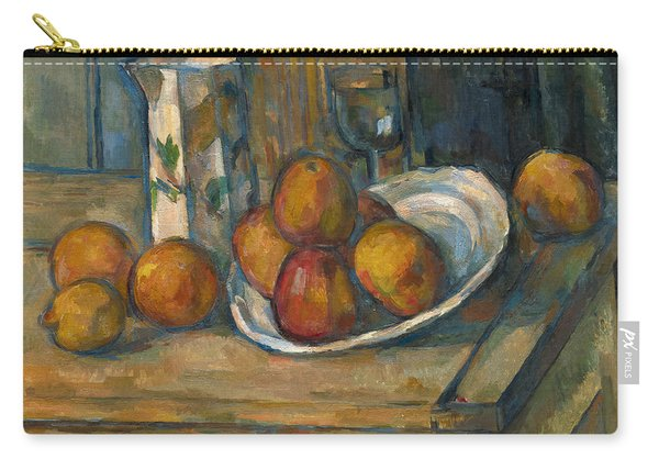 Still Life With Milk Jug And Fruit Carry-all Pouch