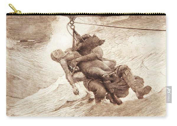 The Life Line Carry-all Pouch