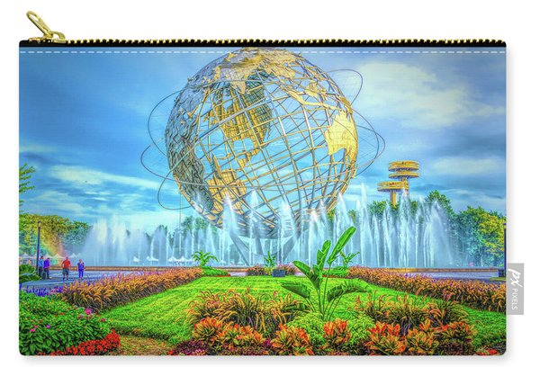 The Unisphere Carry-all Pouch