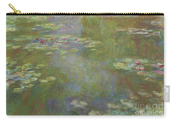Water Lily Pond Carry-all Pouch