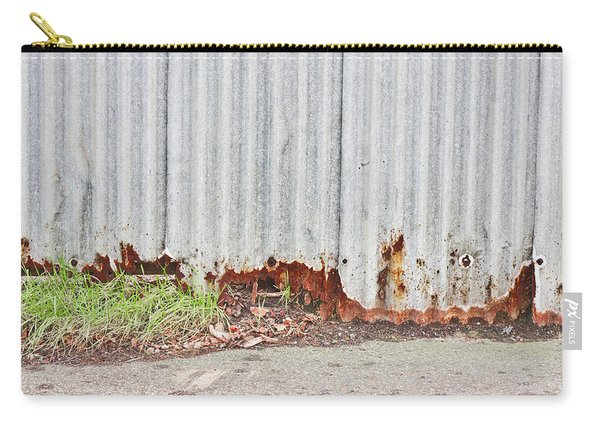 Rusty Metal Carry-all Pouch