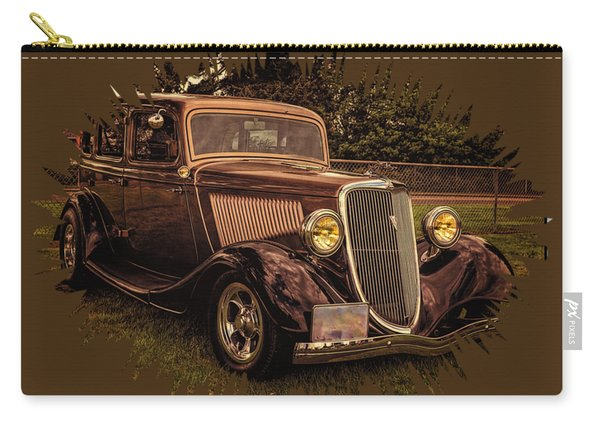 Cool 34 Ford Four Door Sedan Carry-all Pouch