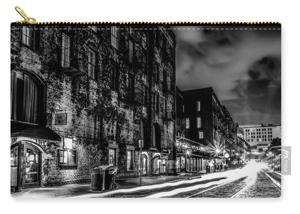 Savannah Georgia Waterfront And Street Scenes  Carry-all Pouch