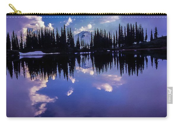 35mm Scan Of Image Lake And Glacier Peak Carry-all Pouch
