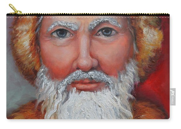 3d Santa Carry-all Pouch
