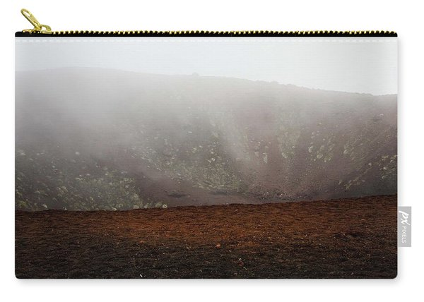 Etna, Red Mount Crater Carry-all Pouch