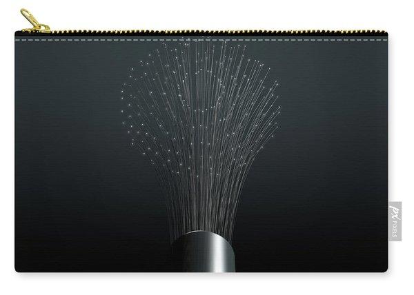 Fiber Optics Close Carry-all Pouch