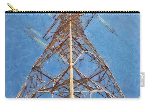 High Voltage Pylon Carry-all Pouch