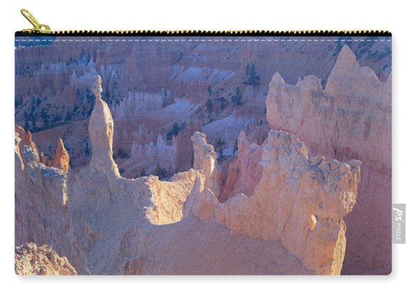 Hoodoos At Sunrise, Bryce Canyon Carry-all Pouch