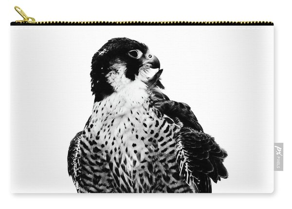 Portrait Of Bird Of Prey  Carry-all Pouch