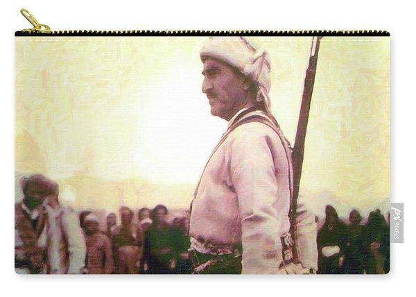 Portrait Of Melle Mutafa Barzani Carry-all Pouch