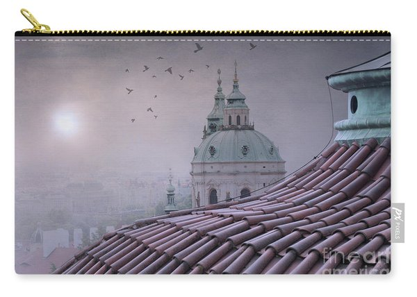 Prague Roof Tops Carry-all Pouch