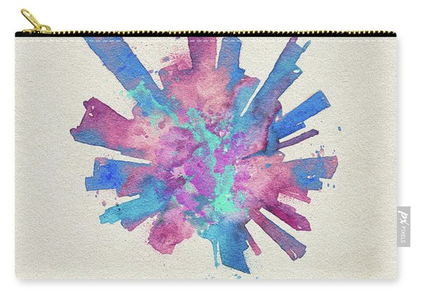 Skyround Art Of Chicago, United States Carry-all Pouch