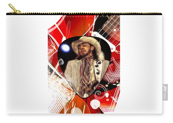 Stevie Ray Vaughan Art Carry-all Pouch